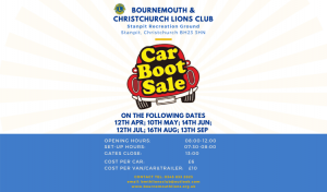 Car Boot Sales @ Stanpit Recreation Ground