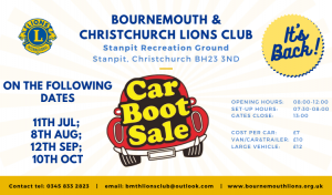 Car Boot Sales @ Stanpit Recreation Ground